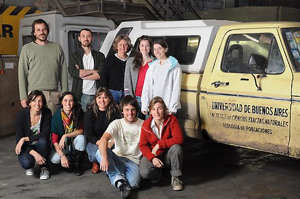 María Busch y su grupo. Foto: Diana Martinez Llaser