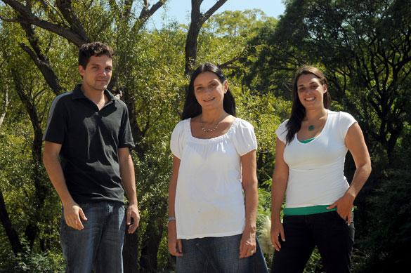 Inés Camilloni y su grupo de investigadores. Foto: Diana Martinez Llaser