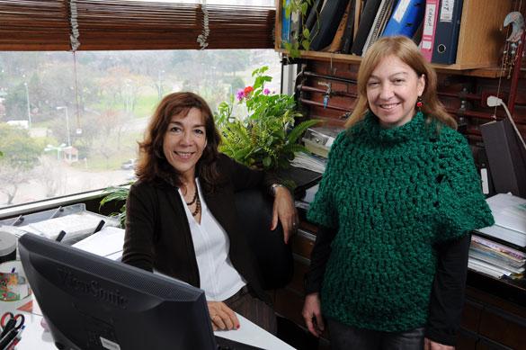 Haydée Pizarro e Irina Izaguirre. Foto: Paula Bassi