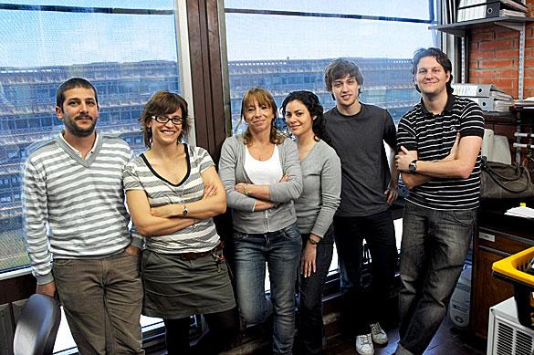 Verónica García y su grupo. Foto: Juan Pablo Vittori