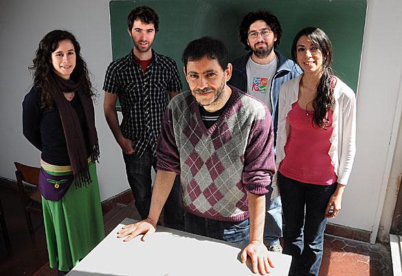 Gabriel Minian y su grupo. Foto: Diana Martinez Llaser