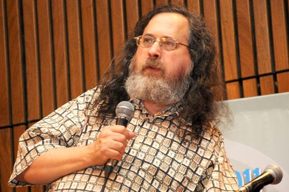 Richard Stallman. Foto: Diana Martinez Llaser