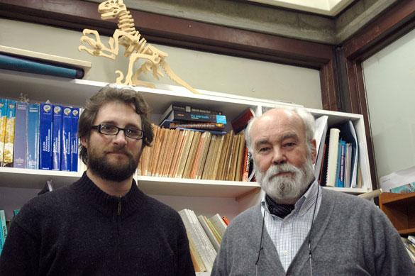 Victor Ramos y Andrés Folguera