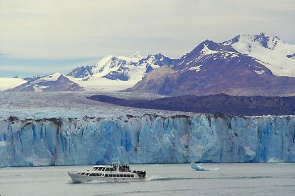 Glaciar Spegazzini, en el lago Argentino.