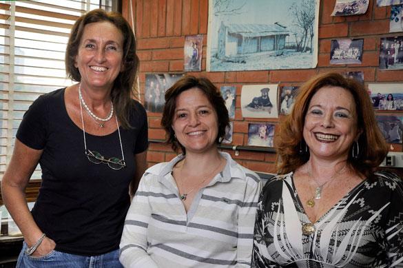 María Julia Orgeira, Cecilia Laprida y Rita Tófalo