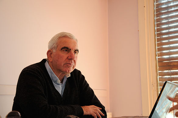 Enrique Martínez. Foto: Juan Pablo Vittori. CePro-EXACTAS