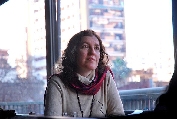 María Joselevich. Foto: Juan Pablo Vittori. EXACTAS-Comunicación