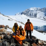Campaña a costa glaciaria. Antártida. Fotos: gentileza Marcomini-López.