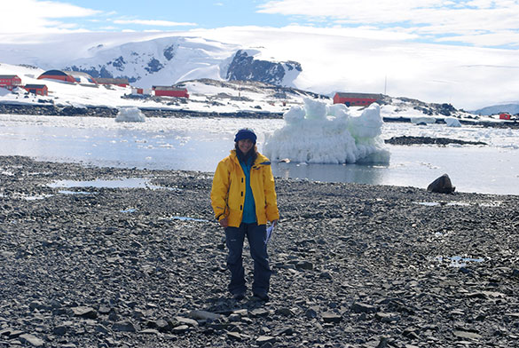 Base Esperanza, Antártida. Fotos: gentileza Marcomini-López.