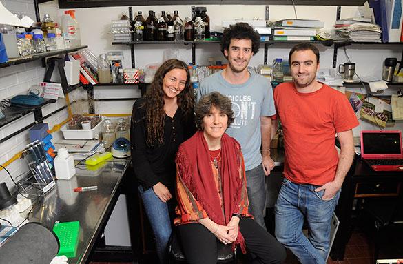 Berta Pozzi, AnabellaSrebrow, Pablo Mammi, Guillermo Risso