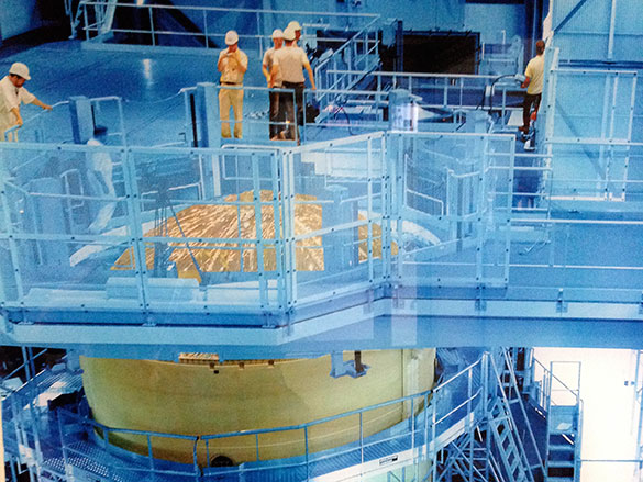 Preparación del lanzamiento en la base de Kourou, Guyana. Foto: Fernando Lombardo