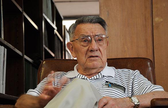 Juan G. Roederer. Foto: Juan Pablo Vittori