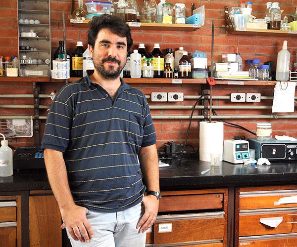 Alejandro Nadra. Foto: Archivo EXACTAS-Comunicación