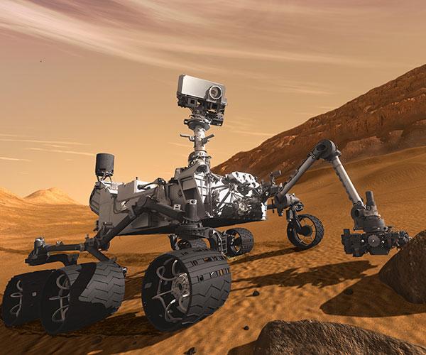 Curiosity. Foto: NASA/JPL-Caltech