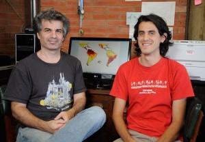 Pablo Schilman y  Gerardo de La Vega.