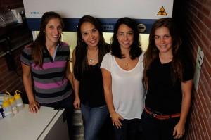 Estefanía Undoniz, Liliana Rondón, Mariana Piuri, María Eugenia Dieterle