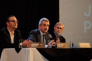 Santiago Rodríguez, Agustín Rossi y Juan Carlos Reboreda.