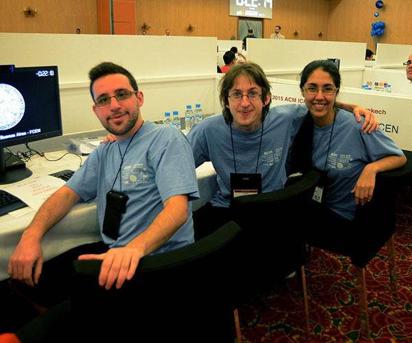 El equipo de la UBA consiguió el puesto 18 entre 120 universidades de todo el mundo en el Mundial de Programación de Marruecos.