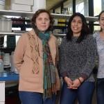 Lía Gerschenson, Silvia Flores, Paola Alzate. Foto: Diana Martinez Llaser.