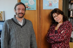 Agustín Adúriz Bravo y Andrea Revel Chion. Foto: Diana Martinez Llaser.