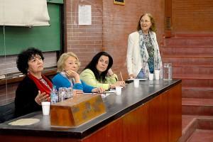 Dora Barrancos, Gloria Bonder, Graciela Morgade y Alicia Dickenstein.