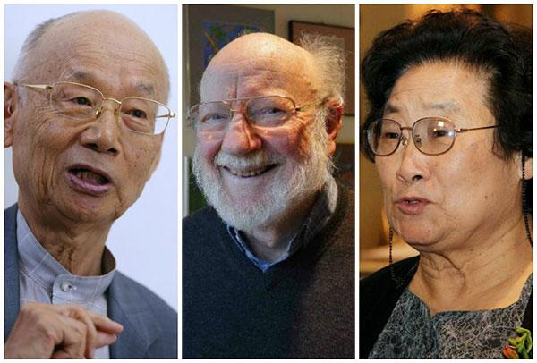 Satoshi Omura, William Campbell y Youyou Tu fueron galardonados con el Nobel de Medicina 2015.
