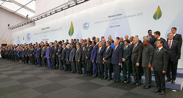 Conferencia sobre Cambio Climático, París 2015.