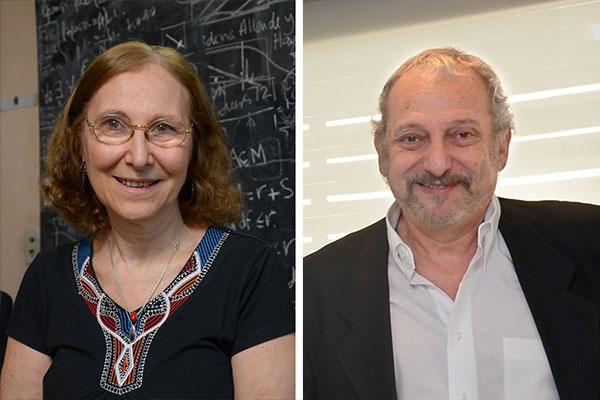 Alicia Dickenstein y Eduardo Arzt.