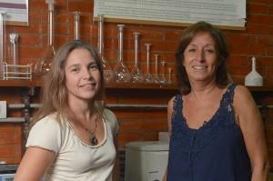 Flavia Michelini y Laura Alché.