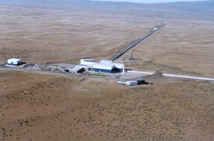 El observatorio Hanford, en el estado de Washington, forma parte del Proyecto LIGO.