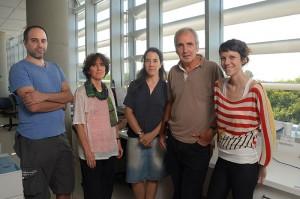 Ignacio Schor, Anabella Srebrow, Luciana Giono, Alberto Kornblihtt, Ana Fiszbein.