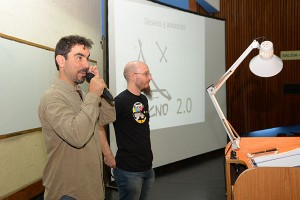 Alejandro Nadra e Ignacio Sánchez fueron los ideólogos y organizadores de TECNOx.