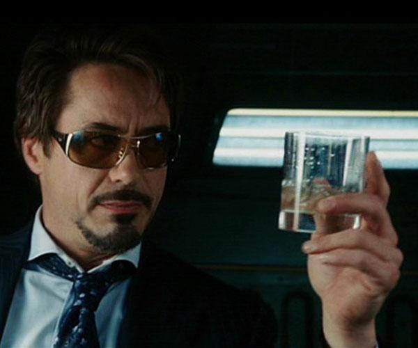 """Robert Downey Jr personifica a Tony Stark en la saga del superhéroe """"Iron Man"""" y en """"Los Vengadores"""". Una serie de films muy populares entre los adolescentes."""