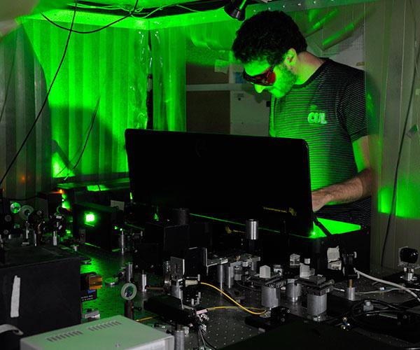 Laboratorio de Electrónica Cuántica.