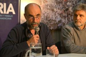 Jorge Aliaga. Foto: Nadia Bascopé. Exactas-comunicación.