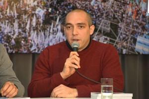 Guillermo Rus. Foto: Nadia Bascopé. Exactas-Comunicación.