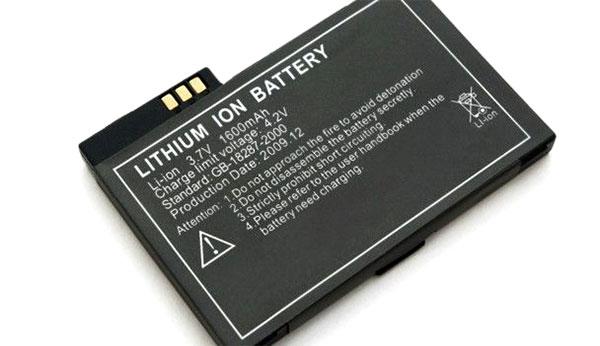 Batería de ion-litio.