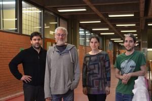 (De izq. a der.) Fernando Locatelli, Alejandro Delorenzi, Julieta Sztarker y Francisco Maza.