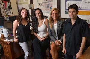 Agustina Cano, Gina Pontes, Romina Barrozo, Héctor Salas.
