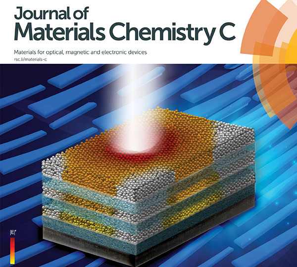 La investigación fue publicada en tapa por la revista Journal of Materials Chemistry C.