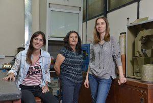 (De izq. a der.) Luciana González, Marcela Tolaba y María Ana Loubes.