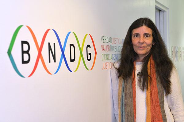 Mariana Herrera, directora del Banco Nacional de Datos Genéticos.
