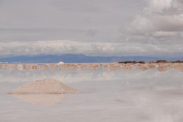 América del Sur tiene el 65% de las reservas mundiales de litio y el 80% de las salmueras que contienen litio en salinas de altura que, además, son de fácil acceso. Foto: Diana Martinez Llaser. Exactas-comunicación.