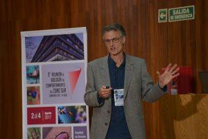 La conferencia inaugural del encuentro internacional estuvo a cargo del argentino Flavio Roces.