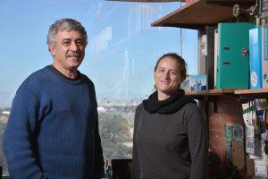 Gabriel Manrique y Claudia Zacharias.