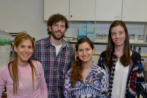 Geraldine Gueron, Juan Bizzotto, Alejandra Paez, Sofia Lage Vickers
