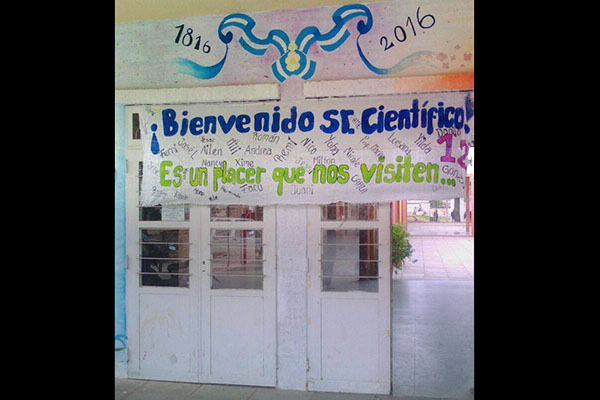 Escuela 181 de Villa Bermejito.