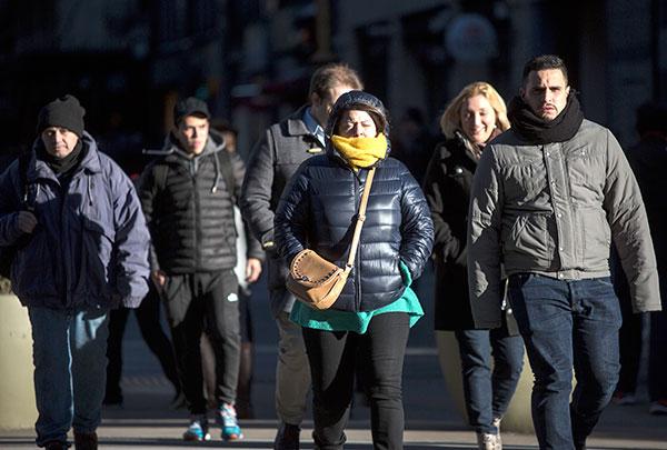 La tendencia indica que cada vez es menor la cantidad de días fríos durante los inviernos porteños. Foto: Martín Zabala.