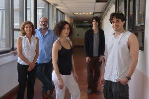 Victoria Bekeris, Gustavo Lozano, Gabriela Pasquini, Juan Schmidt, Mariano Marziali Bermúdez