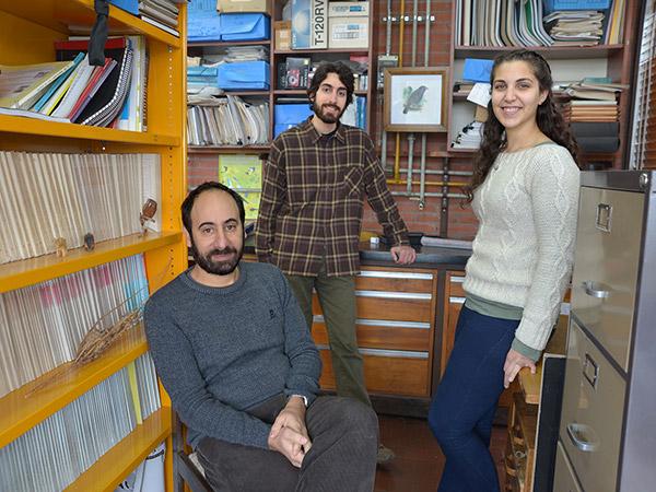 Diego Tuero, Martín Fasanelli y Carolina Bruzzese.